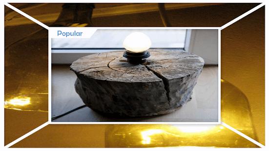 Best Wood Lamp Tutorials - náhled