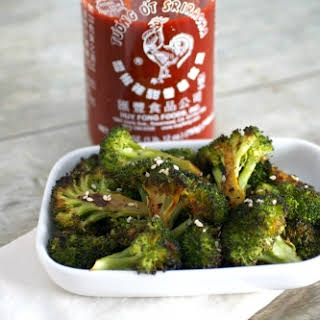 Sriracha Roasted Broccoli.