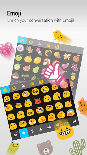 ZenUI Keyboard – Emoji, Theme screenshot 1