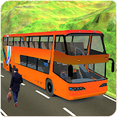 Coach Bus Transportation 3D