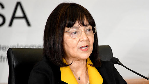 Public works and infrastructure minister Patricia de Lille.