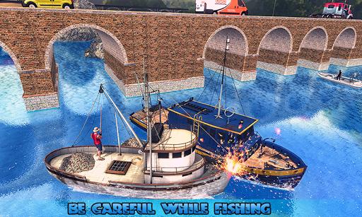 Fishing Ship Simulator 2019 : Fish Boat Game download 2
