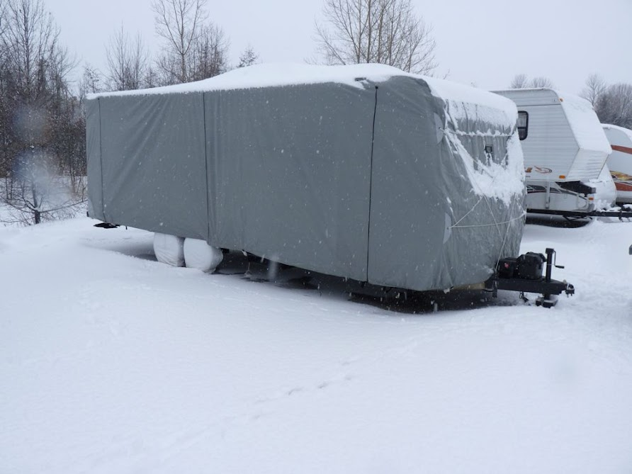 how to measure a travel trailer for a cover