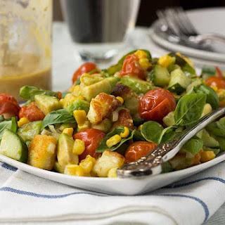 Tomato Avocado Basil Salad Recipes