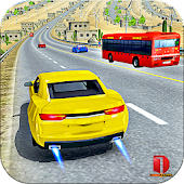 Modern Car top drift Traffic Race- free games
