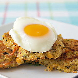 Quinoa Chickpea Patties.