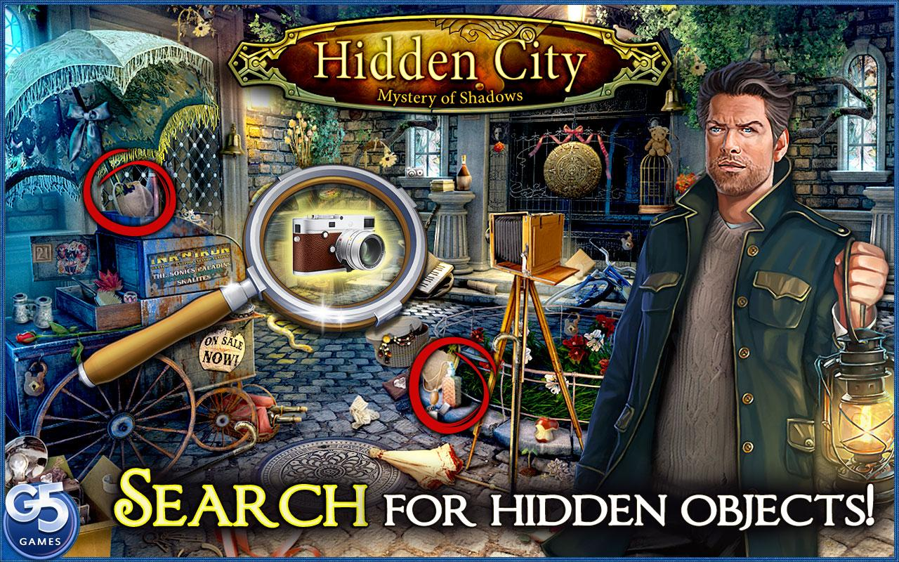 Screenshots of Hidden City:Mystery of Shadows for iPhone