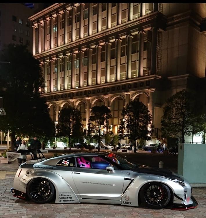 NISSAN GT-R R35のLIBERTYWALK,LB★PERFOMANCE,car wink photo,真横,流行りに便乗に関するカスタム&メンテナンスの投稿画像1枚目