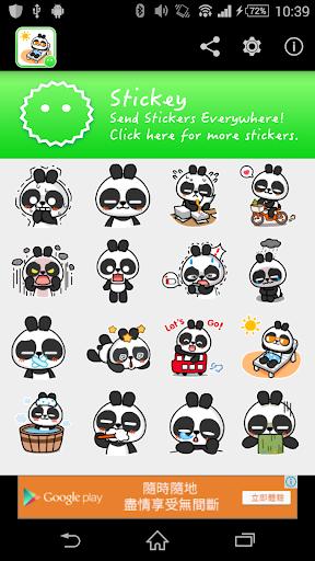 Stickey Doll Panda