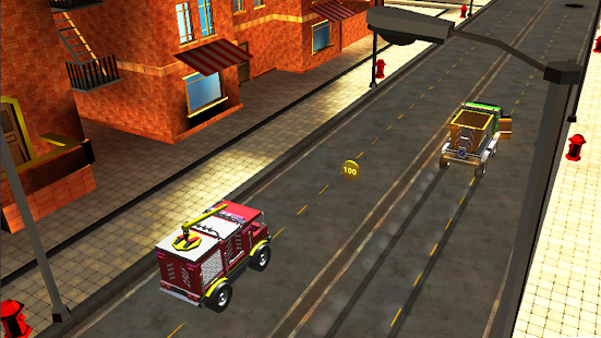 Toy Car Traffic Racing:Toon Cars 2018 screenshot