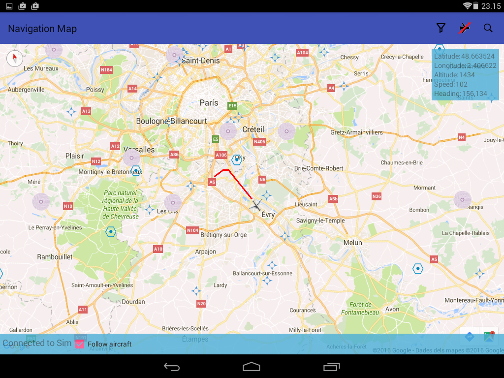 FS Navigation Map- screenshot