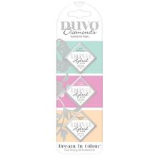 Tonic Studios Nuvo Diamond Hybrid Ink Pads 3/Pkg - Dream In Colour 84N UTGÅENDE