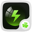 Black Theme GO Power Battery icon