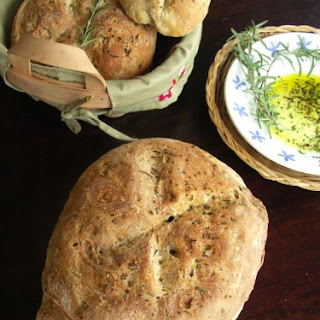 Rosemary Pepper Peasant Bread.