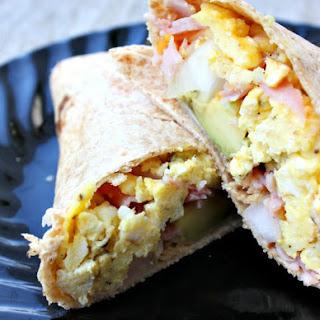 Easy Freezer Breakfast Burritos