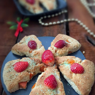 PERSIMMON SCONES | GLUTENFREE