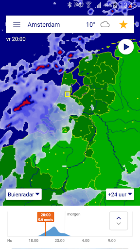 Buienradar - weer app (apk) free download for Android/PC/Windows screenshot