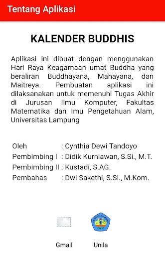 Kalender Buddhis Apk Download 4
