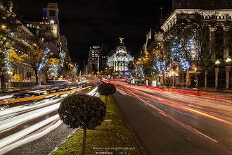 Photo: Calle de Alcalá, Madrid.  Puedes ver el artículo dedicado a Fotografía nocturna en el siguiente enlace:  http://blog.betsabedonoso.com/2014/12/madrid-nocturna.html