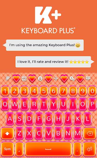 Love Keyboard Theme HD