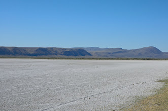 Photo: Alkali Lake (dry)