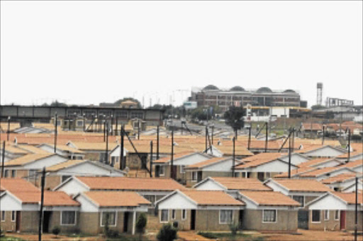 non delivery of rdp housing