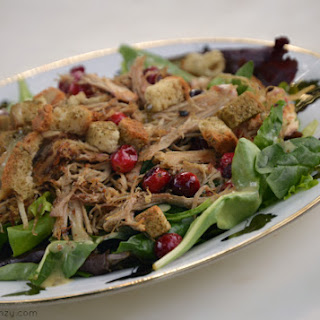 Thanksgiving Leftovers Salad {Gluten-Free, Dairy-Free}