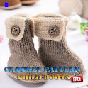 Crochet Pattern Child Boots icon