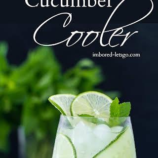 Gin Cucumber Cooler.