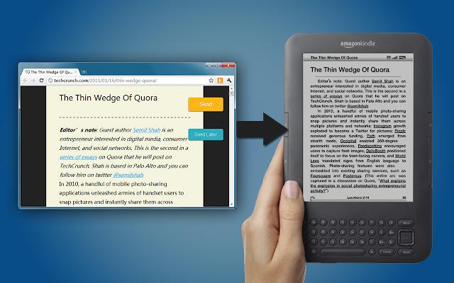 Send to Kindle (by Klip.me)