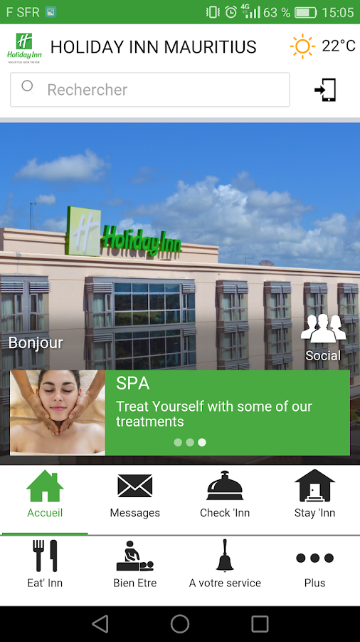 Holiday Inn Mauritius- screenshot