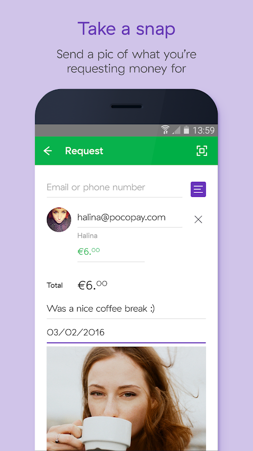 Pocopay – Free instant account- screenshot