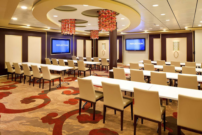 Conference Room A on Celebrity Reflection: a modern facility ideal for getting business done.