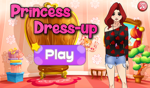 Dress Up Princess Girl Fashion Screenshot