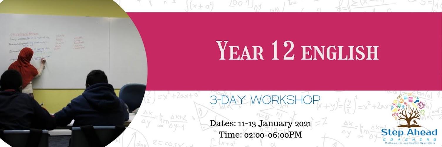 Year 12 English (3-Day)