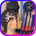 African Braids Hairstyle icon