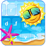 Welcome Summer Keyboard Themes Icon