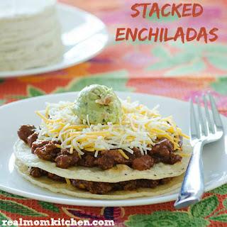 Stacked Enchiladas.