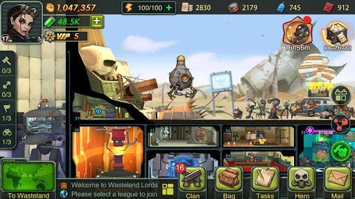 wasteland lords screenshot 2