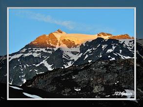 Photo: Levant sur le Glacier de Gébroulaz