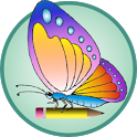 Pretty Butterflies for Kids icon
