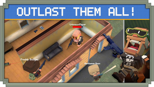 Guns Royale - Multiplayer Blocky Battle Royale 1.0 screenshots 1
