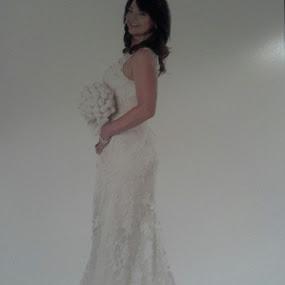 Tomorrow I will be Mrs. MOORE by Terri Moore - Wedding Bride
