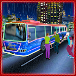 Party Bus Driver Simulator 3D