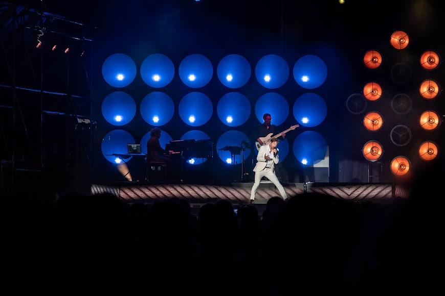 El recinto estaba dividido en diferentes zonas para el concierto