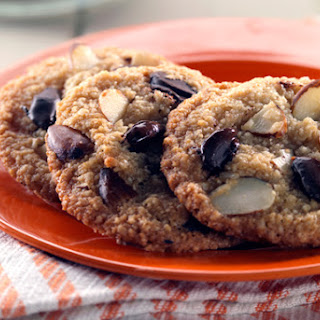 Double Almond Chocolate Chip Cookies
