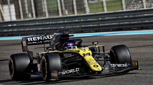 En su vuelta a la F1, Fernando Alonso logra el mejor tiempo hoy en Abu Dhabi