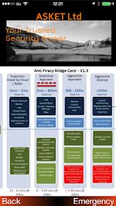 ASKET Maritime Security App screenshot 1