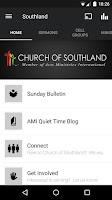 Screenshot of Church of Southland