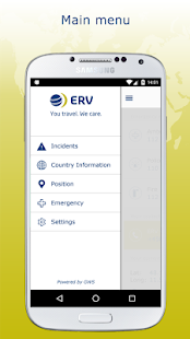 ERV travel & care- screenshot thumbnail